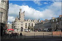 NJ9406 : The Castlegate, Aberdeen by Bill Harrison