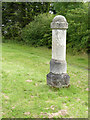 SK7174 : Milestone at Markham Common by Alan Murray-Rust