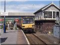 TA0383 : Train entering Seamer station - 1993 by The Carlisle Kid