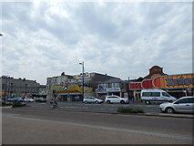 TG5307 : Shops around Leisureland by Hamish Griffin
