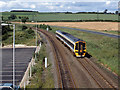TA0384 : Train approaching Seamer station - 1993 by The Carlisle Kid