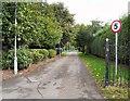 SJ8994 : Entrance to North Reddish Park by Gerald England
