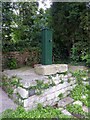 SK7373 : Restored village pump, East Markham by Alan Murray-Rust