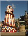 SK3587 : Helter-Skelter in the Peace Gardens by Dave Pickersgill