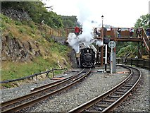 SH6441 : Merddin Emrys creates steam by Richard Hoare
