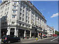 TQ3080 : Strand Palace Hotel, WC2 by Peter Holmes
