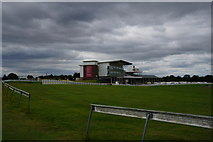 SE4248 : Grandstand at Wetherby Racecourse by Ian S