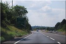 TL8663 : A14, J44 by N Chadwick
