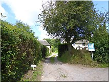 ST0905 : Track and house for sale, Hembercombe by David Smith