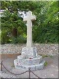ST1004 : Broadhembury war memorial by David Smith