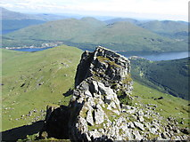 """NN2605 : The south top of """"The Cobbler� by Peter S"""