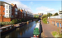 SP0586 : Birmingham Level Main Line Canal by Peter Evans