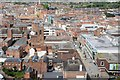SO8554 : Worcester viewed from the Cathedral tower by Philip Halling