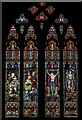 SO5924 : West window, St Mary's church, Ross on Wye by Julian P Guffogg