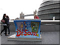 TQ3380 : Dr Seuss's bench by Stephen Craven