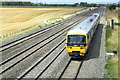 SU5786 : A First Great Western DMU approaches Cholsey by Roger Templeman
