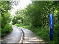SP3075 : Emergency help point, Tocil Wood. University of Warwick, Coventry by Robin Stott