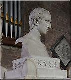 SO5924 : Bust of Thomas Westfaling, Ross on Wye church by Julian P Guffogg