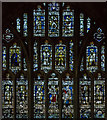 SO7745 : West Window, Great Malvern Priory by Julian P Guffogg