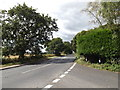 TM0835 : B1070 Heath Road, East Bergholt by Adrian Cable