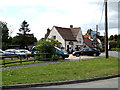 TM0735 : Hare & Hounds Public House, East Bergholt by Adrian Cable