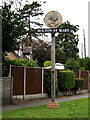 TM0636 : Holton St.Mary Village sign by Geographer