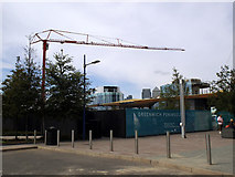 TQ3979 : More construction near the O2 by Stephen Craven