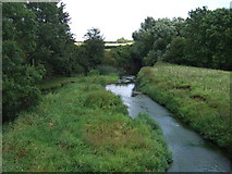 SP9599 : River Welland near Wakerley by JThomas