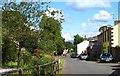 NY7808 : Village street, Hartley by Gordon Hatton