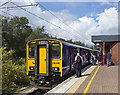 SD5805 : Class 150 DMU at Wigan by William Starkey