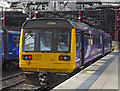 """SJ3590 : Class 142 """"Pacer"""" at Liverpool Lime Street by William Starkey"""