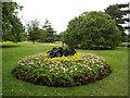 TQ3977 : Flower garden in Greenwich Park by Stephen Craven