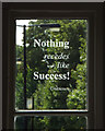 "SP1674 : Unknown: ""Nothing recedes like Success"" by Robin Stott"