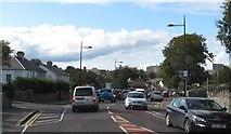 J4844 : Rush hour traffic on St Patrick's Avenue (B1), Downpatrick by Eric Jones