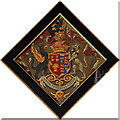 TF7928 : St Martin of Tours, Houghton - Hatchment by John Salmon
