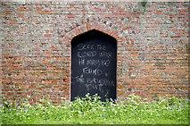 J5080 : Christian graffiti, Bangor by Rossographer