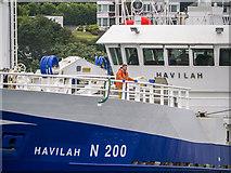 J5082 : The 'Havilah' at Bangor by Rossographer