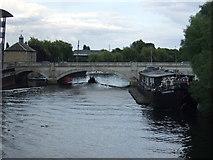 TL1998 : London Road bridge over the River Nene by JThomas