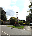 TM0734 : East Bergholt War Memorial by Adrian Cable