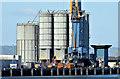 J3576 : Silos, Belfast harbour - August 2014(2) by Albert Bridge