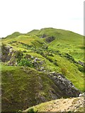 NY8008 : Limestone outcrops by Birkett Hill by Gordon Hatton