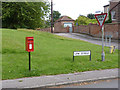 SK7472 : Church Street, East Markham postbox ref NG22 151 by Alan Murray-Rust
