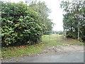 TQ0389 : Entrance to field on Tilehouse Lane by David Howard