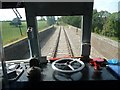 SP0533 : Driver's view of Stanway viaduct by Christine Johnstone