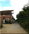 TM0733 : Lane & Flatford Mill by Adrian Cable
