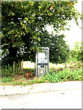 TM0534 : Telephone Box on the A12 Ipswich Road by Adrian Cable