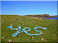 NG3136 : Marine debris on Oronsay by John Allan