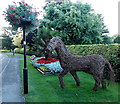 SK4003 : Wicker warhorse, Market Bosworth by Jaggery