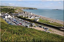 SH1726 : View over Aberdaron by Philip Halling
