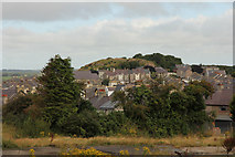 SH4862 : Caernarfon rooftops by Richard Croft